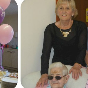 Jenny Kelly's 100th Birthday Celebrations