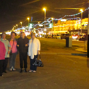 Residents have a blast in Blackpool