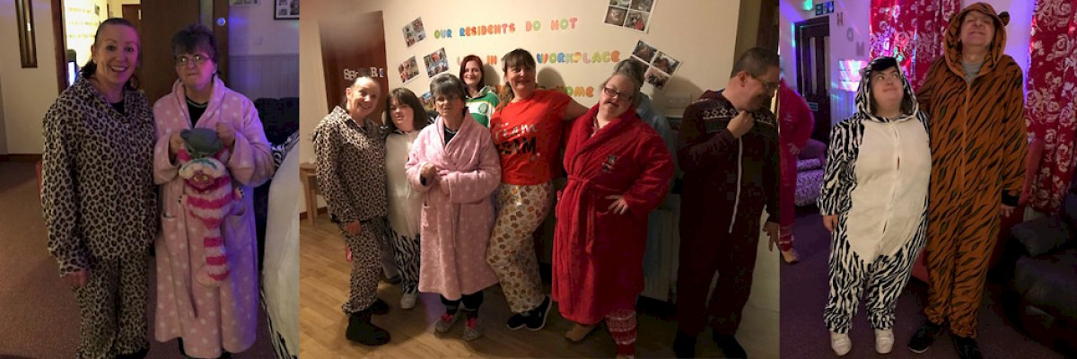 On Friday17th November residents within Castle Gait Manor enjoyed fundraising for Children in Need