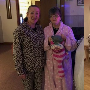 Chilling in our Pyjamas for Children in Need